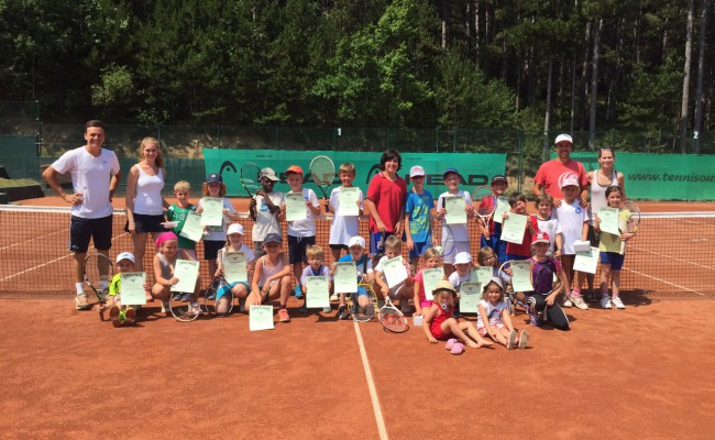 Kindertenniscamp